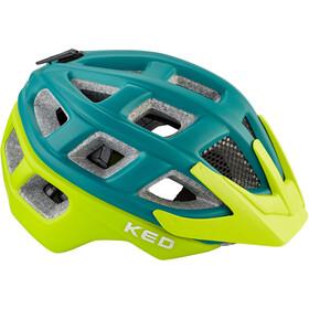KED Kailu Helmet Kinder petrol green matt